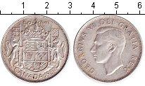 Изображение Монеты Канада 50 центов 1952 Серебро XF