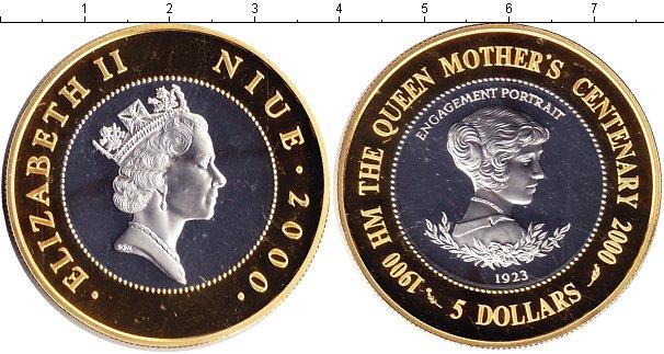 Картинка Монеты Ниуэ 5 долларов Серебро 2000