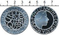 Изображение Монеты Великобритания 5 фунтов 2003 Серебро Proof- Елизавета II