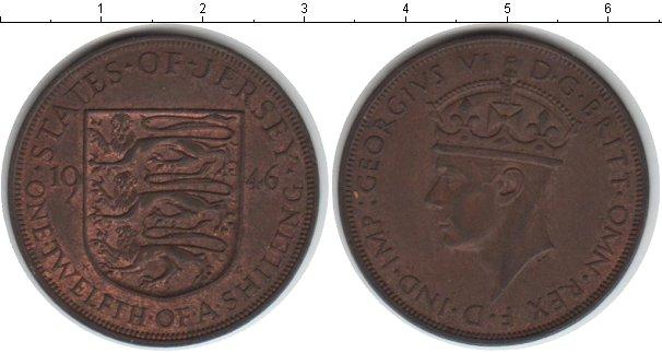 Картинка Монеты Остров Джерси 1/12 шиллинга Медь 1946
