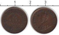 Изображение Монеты Индия 1/12 анны 1912 Медь XF Георг V