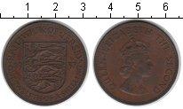 Изображение Монеты Остров Джерси 1/12 шиллинга 1957 Медь XF Елизавета II.