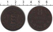 Изображение Монеты Гернси 8 дублей 1885 Медь VF