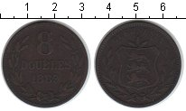 Изображение Монеты Гернси 8 дублей 1889 Медь VF