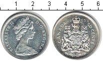 Изображение Монеты Канада 50 центов 1965 Серебро XF Елизавета II.