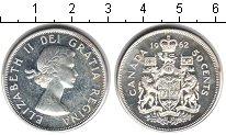 Изображение Монеты Канада 50 центов 1962 Серебро XF