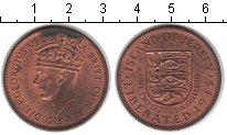Изображение Монеты Остров Джерси 1/12 шиллинга 1945 Медь UNC- Георг VI
