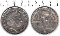 Изображение Монеты Великобритания 5 фунтов 2001 Медно-никель XF 100 лет со дня смерт
