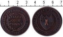 Изображение Монеты Великобритания 1 пенни 1814 Медь