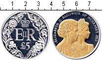 Изображение Подарочные наборы Гернси 5 фунтов 2012 Серебро Proof-