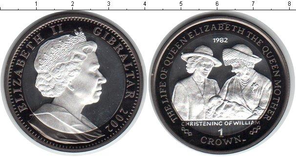 Картинка Монеты Гибралтар 1 крона Серебро 2012