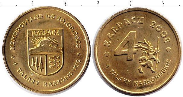 Картинка Мелочь Польша жетон Медь 2008