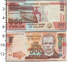 Изображение Банкноты Малави 500 квач 2012  UNC-