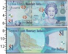 Изображение Боны Каймановы острова 1 доллар 2010  UNC-