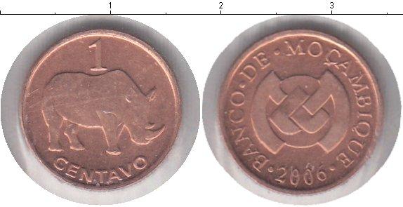 Картинка Мелочь Мозамбик 1 сентаво Медь 2006
