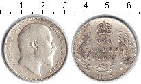 Изображение Монеты Индия 1 рупия 1906 Серебро  Эдуард VII