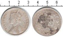 Изображение Монеты Индия 1 рупия 1878 Серебро XF Виктория.