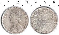 Изображение Монеты Индия 1 рупия 1891 Серебро VF Виктория