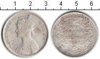 Индия 1 рупия 1862 Серебро