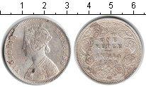 Изображение Монеты Индия 1 рупия 1880 Серебро  Виктория