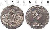 Изображение Мелочь Новая Зеландия 1 доллар 1970 Медно-никель UNC- Гора Кука