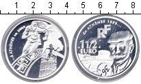 Изображение Монеты Франция 1 1/2 евро 2004 Серебро Proof- Олимпиада 2004