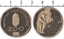 Изображение Мелочь Венгрия 200 форинтов 2000  Proof- Мыслитель