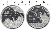 Изображение Монеты Германия 10 евро 2008 Серебро Proof 200 лет со дня рожде