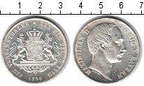 Изображение Монеты Бавария 1 талер 1858 Серебро UNC-