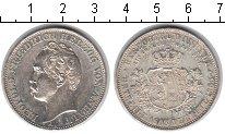 Изображение Монеты Анхальт-Дессау 1 талер 1863 Серебро XF Воссоединение герцог
