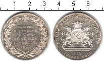 Изображение Монеты Германия Бремен 1 талер 1865 Серебро XF