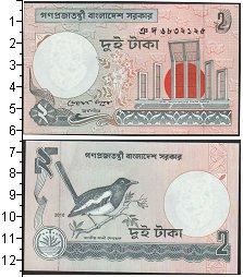 Изображение Банкноты Бангладеш 2 така 2010  UNC