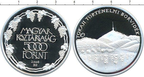 Картинка Монеты Венгрия 5.000 форинтов Серебро 2008