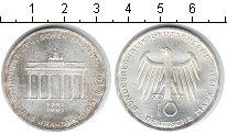 Изображение Монеты Германия 10 марок 1991 Серебро UNC- Бранденбургские воро