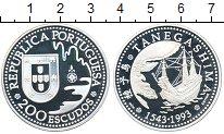Изображение Монеты Португалия 200 эскудо 1993 Серебро Proof- Танегашима