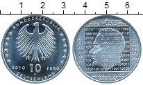 Изображение Монеты Германия 10 евро 2010 Серебро UNC 100 лет со дня рожде