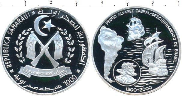 Картинка Монеты Сахара 1.000 песет Серебро 2000