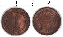 Изображение Монеты Веймарская республика 1 пфенниг 1931 Медь XF E