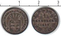 Изображение Монеты Вюртемберг 1 крейцер 1868 Серебро XF