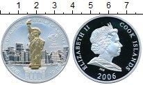 Изображение Монеты Острова Кука 10 долларов 2006 Серебро Proof Статуя Свободы
