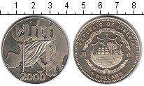 Изображение Монеты Либерия 5 долларов 2000 Медно-никель UNC Евросоюз