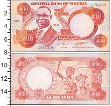 Изображение Боны Нигерия 10 найр 2004  UNC-