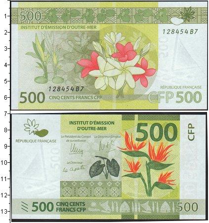 Картинка Боны Полинезия 500 франков  0