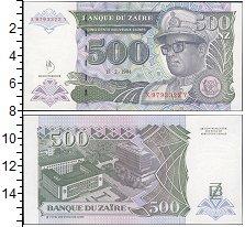 Изображение Банкноты Заир 500 заир 1994  UNC-