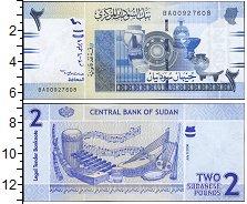 Изображение Боны Судан 2 фунта 0  UNC-