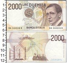 Изображение Боны Италия 2000 лир 1990  UNC-