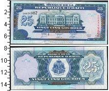Изображение Банкноты Гаити 25 гурдес 2006  UNC-