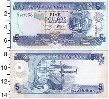 Изображение Боны Соломоновы острова 5 долларов 0  UNC-