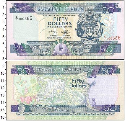 Картинка Банкноты Соломоновы острова 50 долларов  0