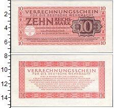 Изображение Банкноты Третий Рейх 10 марок 0  XF